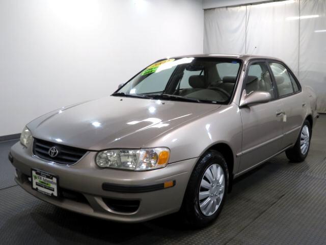 2002 Toyota Corolla 4dr Sdn CE Manual (Natl)