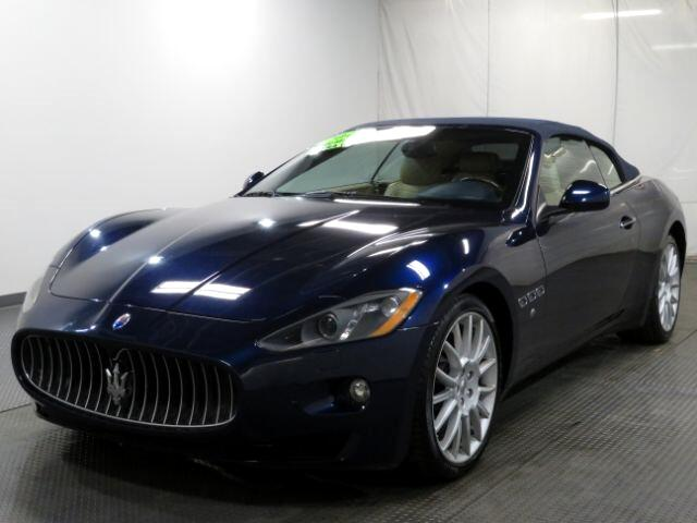 2013 Maserati GranTurismo Convertible 2dr Conv GranTurismo