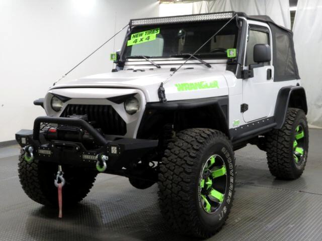 2003 Jeep Wrangler 2dr Sahara