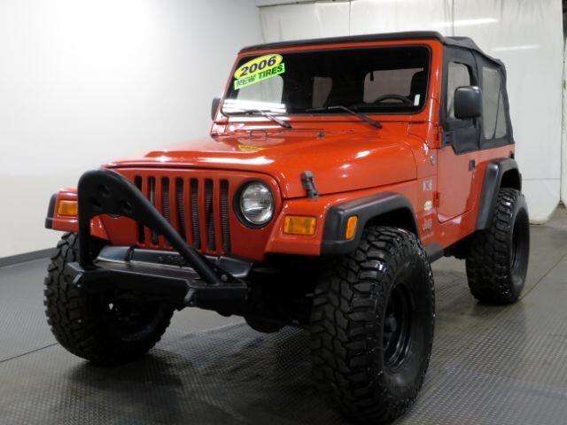 Jeep Wrangler 2dr X 2006