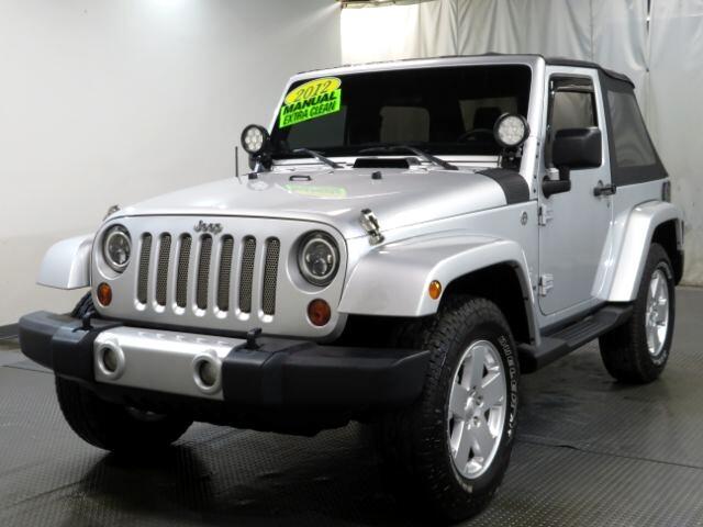 Jeep Wrangler 4WD 2dr Sahara 2012
