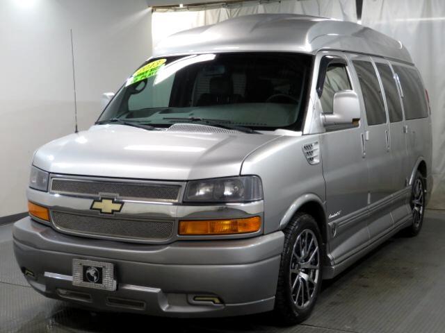 """Chevrolet Express Cargo Van RWD 1500 135"""" Upfitter 2013"""