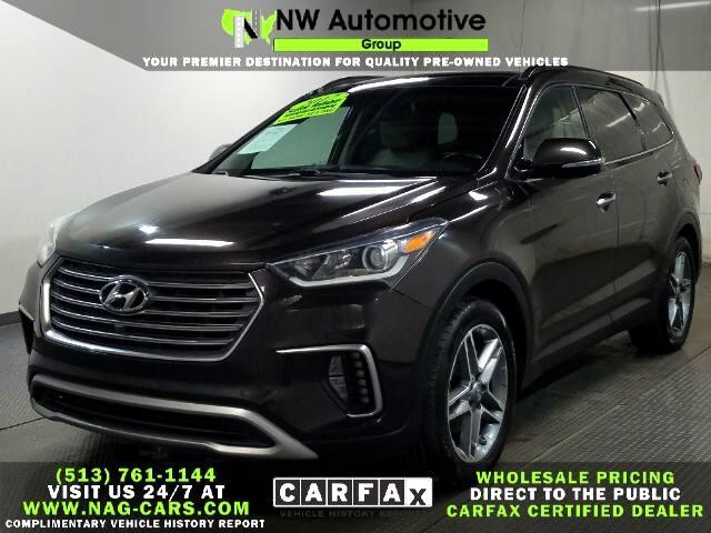 Hyundai Santa Fe SE Ultimate 3.3L Auto AWD 2017