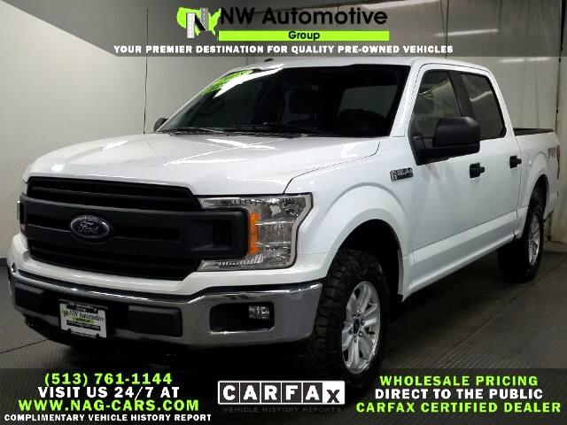 Ford 150 Lariat 4WD SuperCrew 5.5' Box 2018