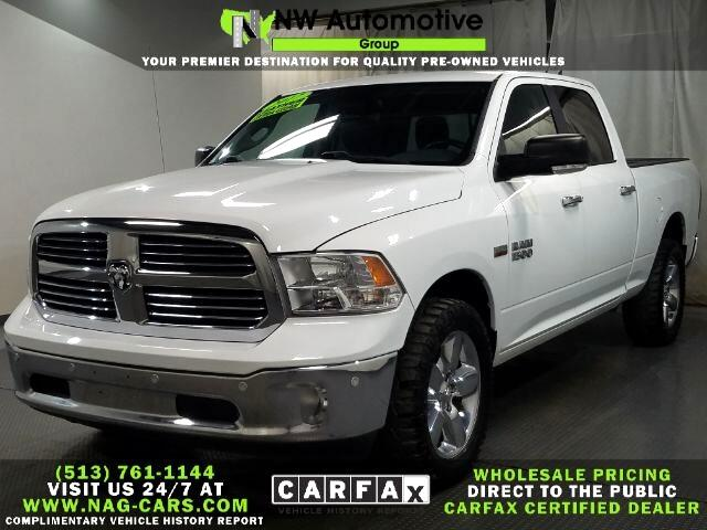 "RAM 1500 Big Horn 4x4 Crew Cab 6'4"" Box 2017"