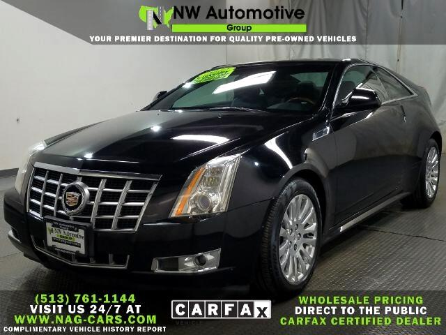 Cadillac CTS 2dr Cpe Premium AWD 2012