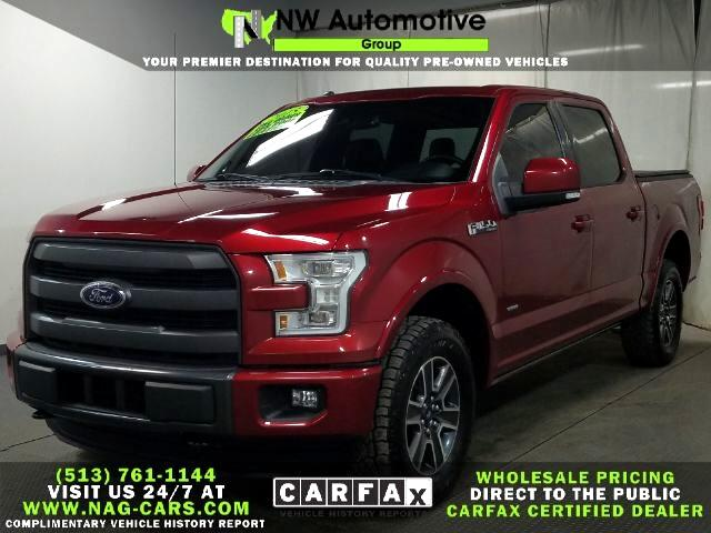 "Ford 150 4WD SuperCrew 145"" King Ranch 2015"
