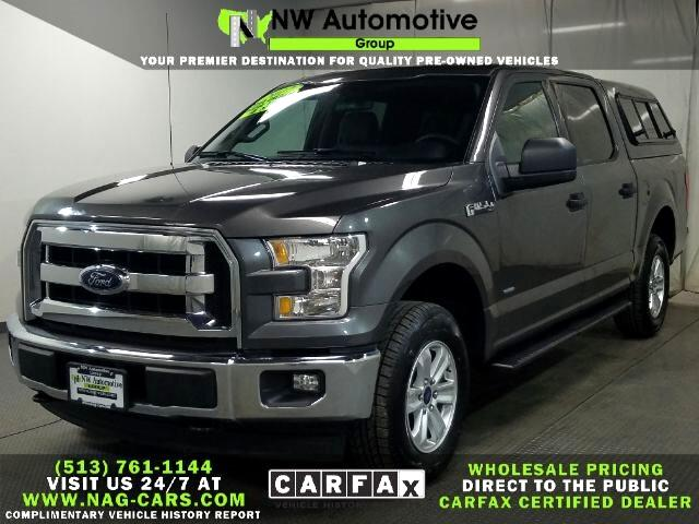 Ford 150 Lariat 4WD SuperCrew 5.5' Box 2017