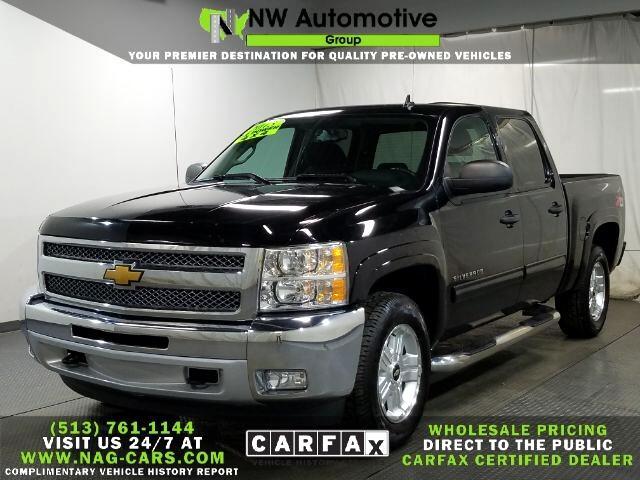 """Chevrolet Silverado 1500 4WD Crew Cab 143.5"""" LT 2013"""