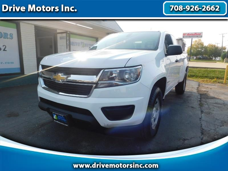 Chevrolet Colorado Work Truck Ext. Cab 2WD 2018