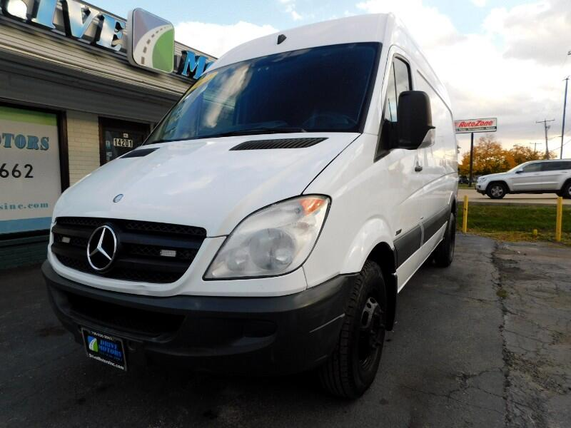 Mercedes-Benz Sprinter 3500 High Roof 144-in. WB 2012