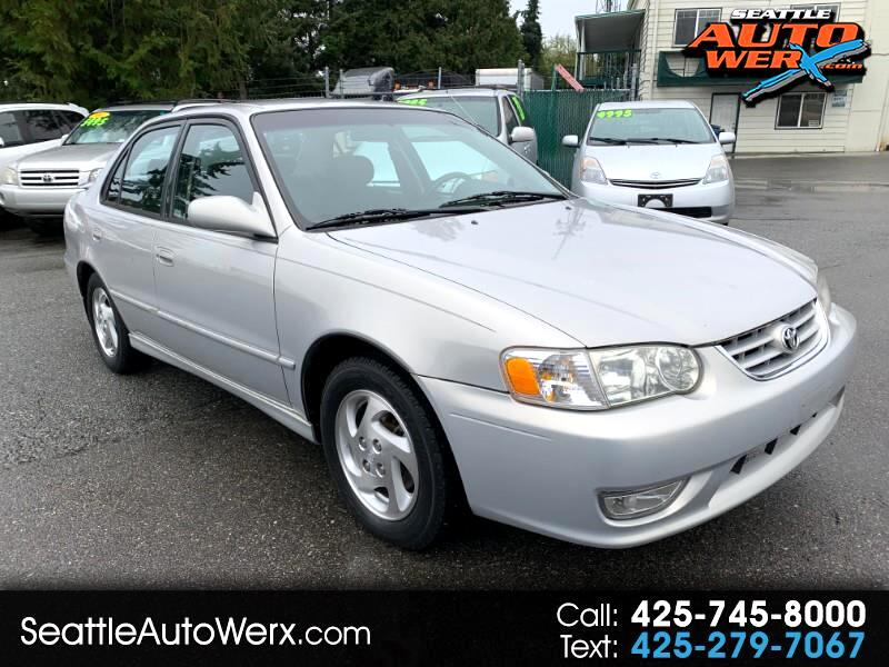 2002 Toyota Corolla 4dr Sdn S Auto (Natl)