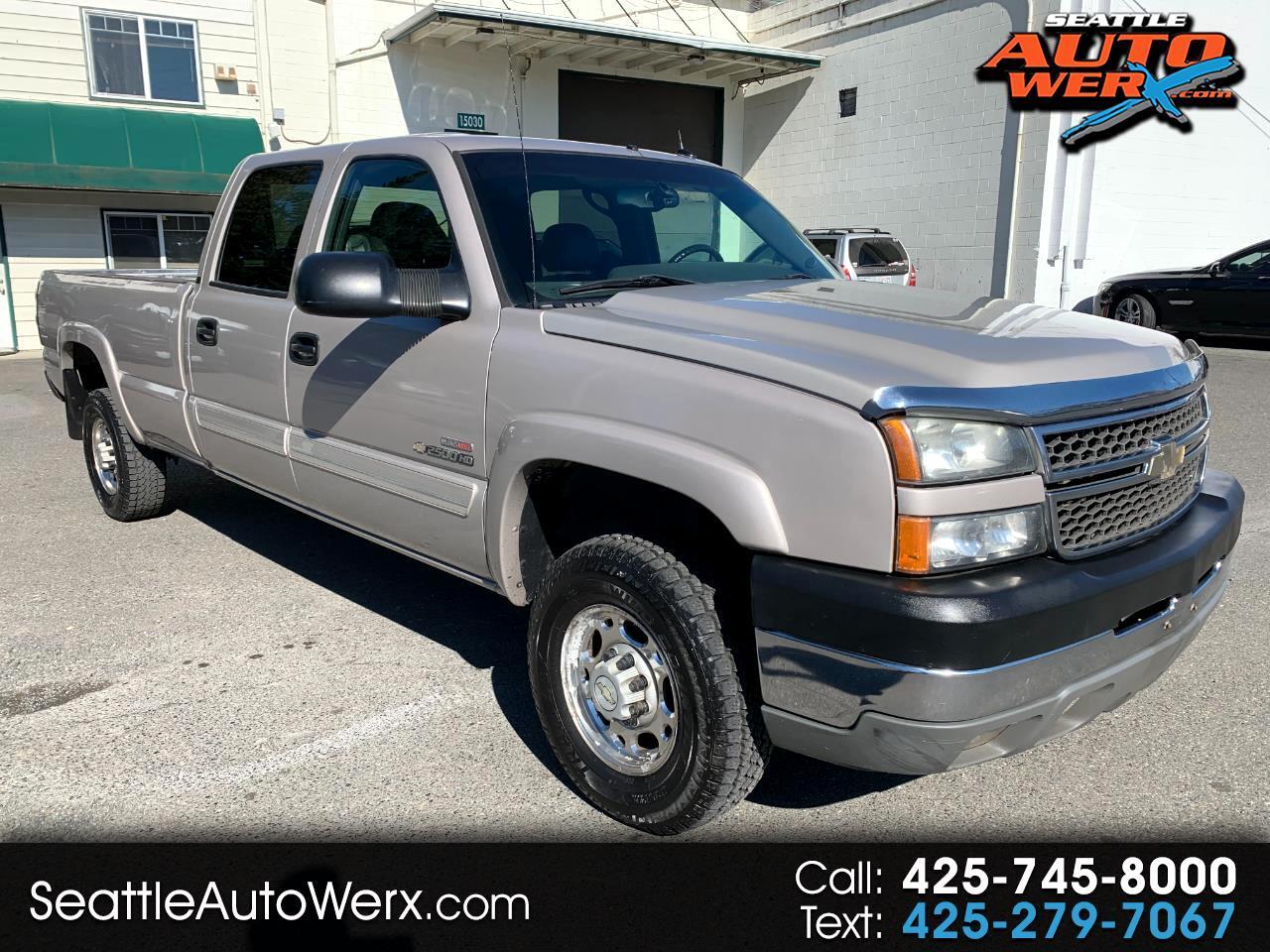 "Chevrolet Silverado 2500HD Crew Cab 167"" WB 4WD LT 2005"