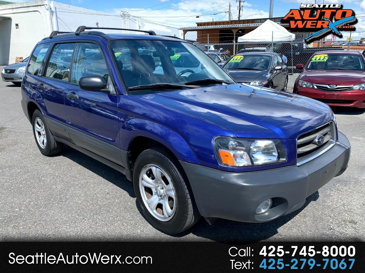 Subaru Forester 4dr 2.5 X Auto 2003