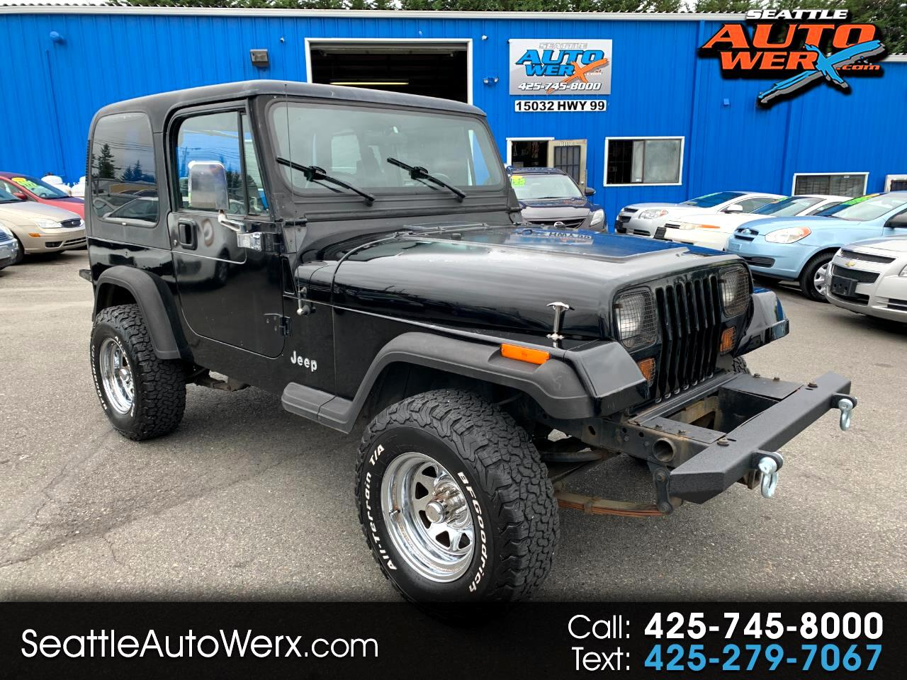 Jeep Wrangler 2dr S 1995