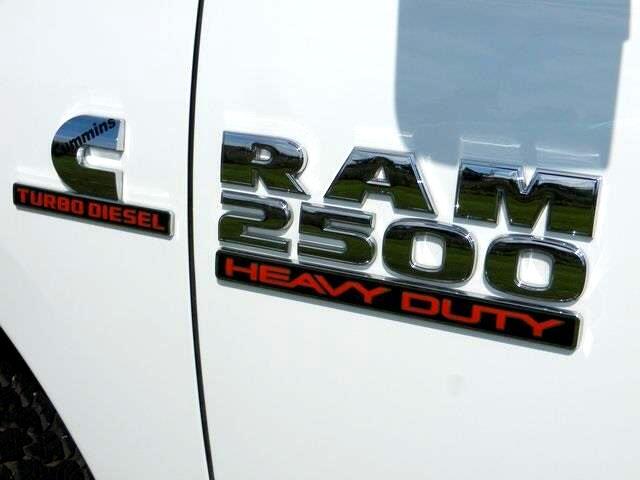 2018 RAM 2500 Tradesman 4X4 DIESEL FLAT BED