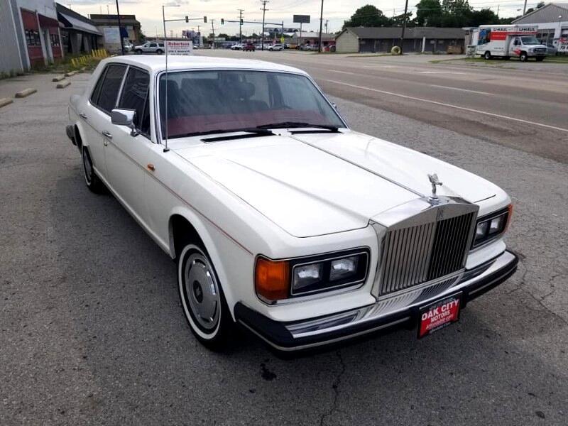1984 Rolls-Royce Silver Spirit 4dr Sedan Pmts:333.00 per mo w.a.c.