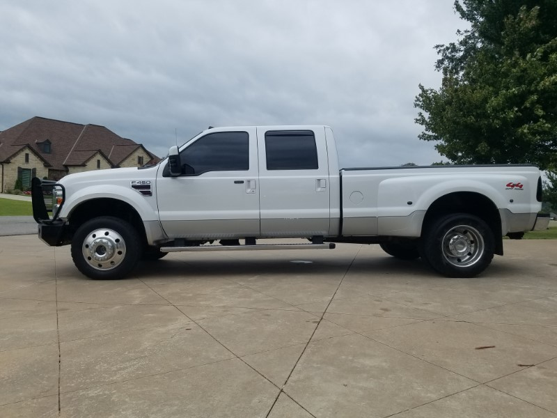 2009 Ford Super Duty F-450 DRW 4wd Crew Cab long bed