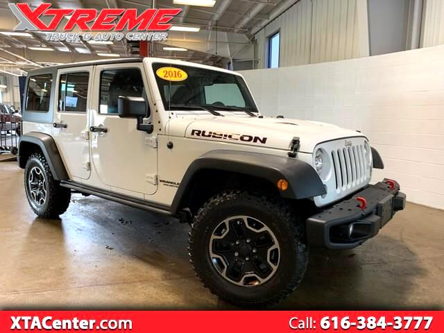 2016 Jeep Wrangler 4WD 4dr Unlimited Rubicon