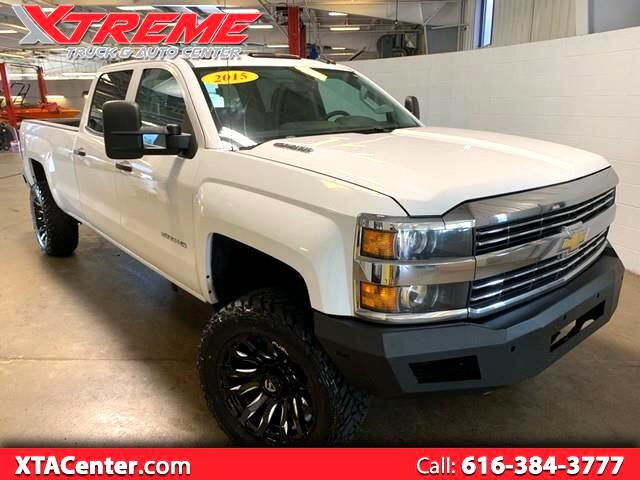 2015 Chevrolet Silverado 3500HD LT Crew Cab Long Box 4WD
