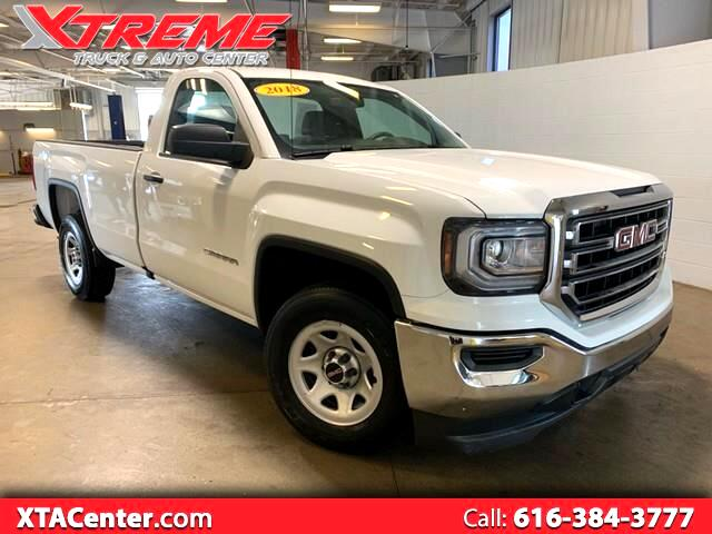 2018 GMC Sierra 1500 Reg. Cab 8-ft. Bed 2WD