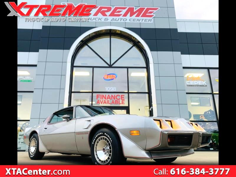 1979 Pontiac Firebird Trans-Am WS6 10th ANNIVERSARY SILVER EDITION
