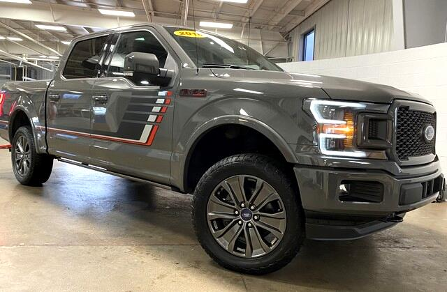 Ford F-150 Lariat SuperCrew 4WD 2018