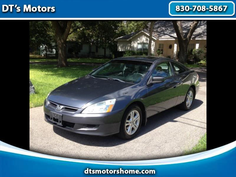 2007 Honda Accord Coupe EX Manual