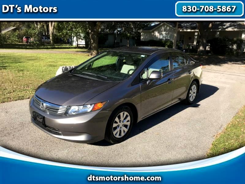 Honda Civic LX 4D Sedan 2012