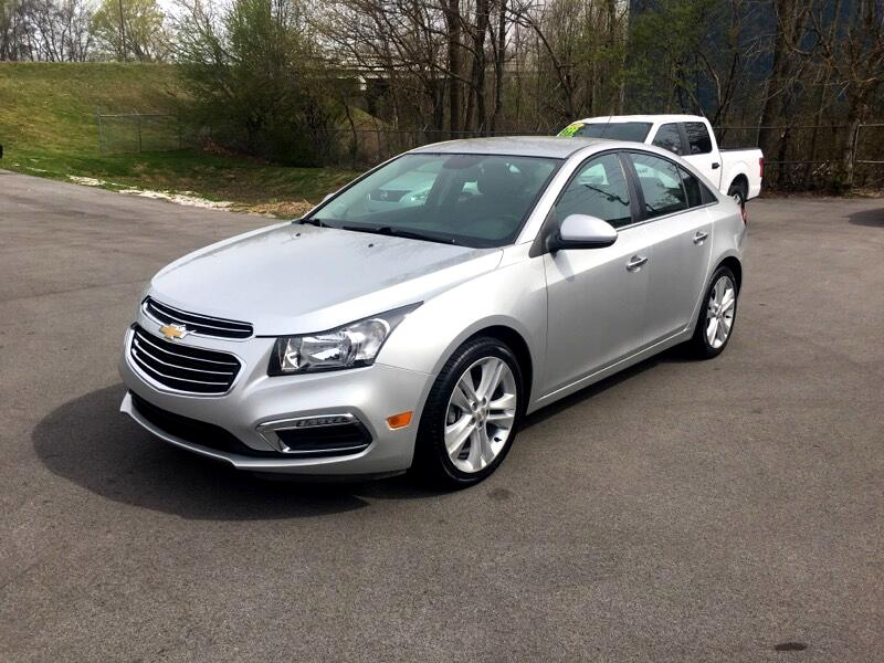 Tullahoma Auto Sales >> Used 2016 Chevrolet Cruze Limited LTZ for Sale in Tullahoma TN 37388 Payless Auto of Tullahoma