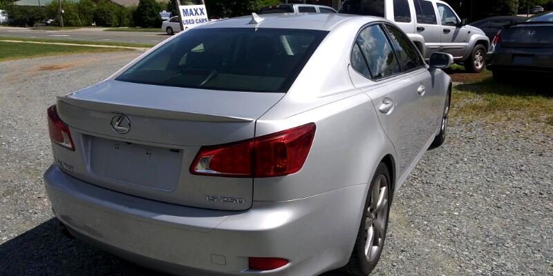 2010 Lexus IS IS 250 6-Speed Sequential