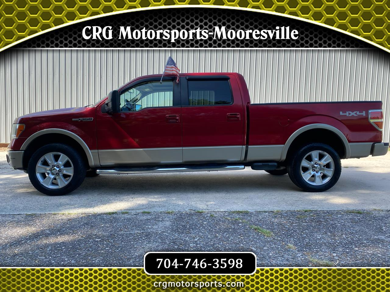 Ford F-150 Lariat SuperCrew 6.5-ft. Bed 4WD 2009
