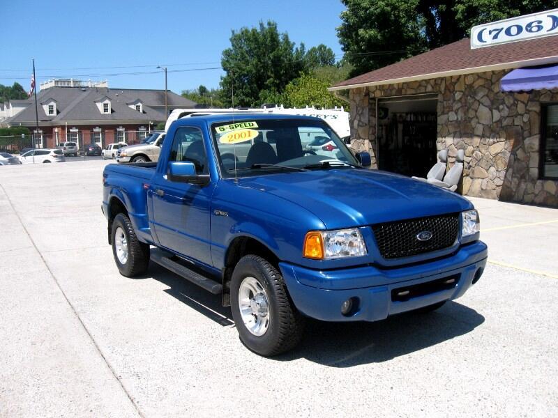2001 Ford Ranger Edge Plus 4.0 Flareside 2WD