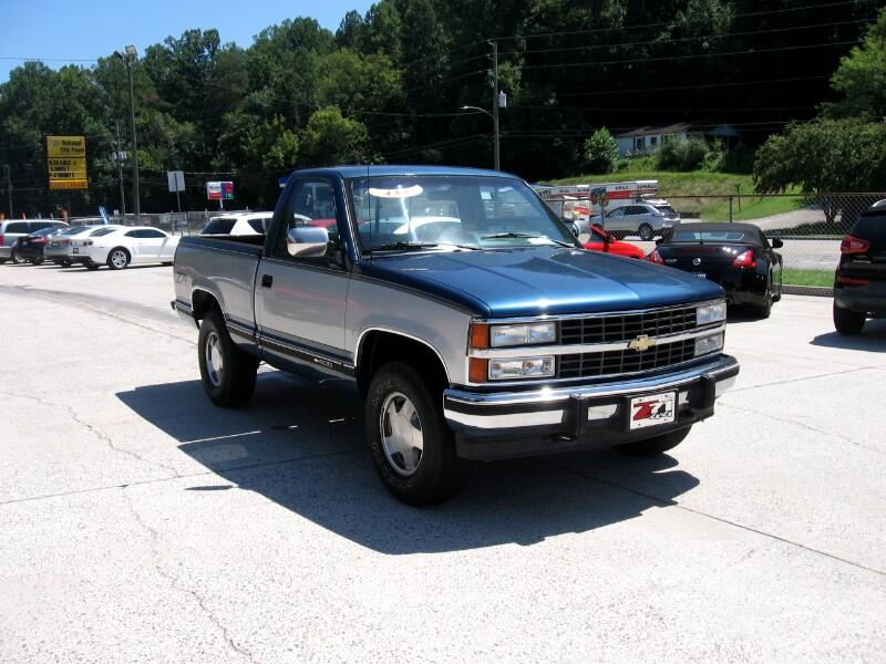 Chevrolet C/K 1500 Reg. Cab 6.5-ft. Bed 4WD 1990
