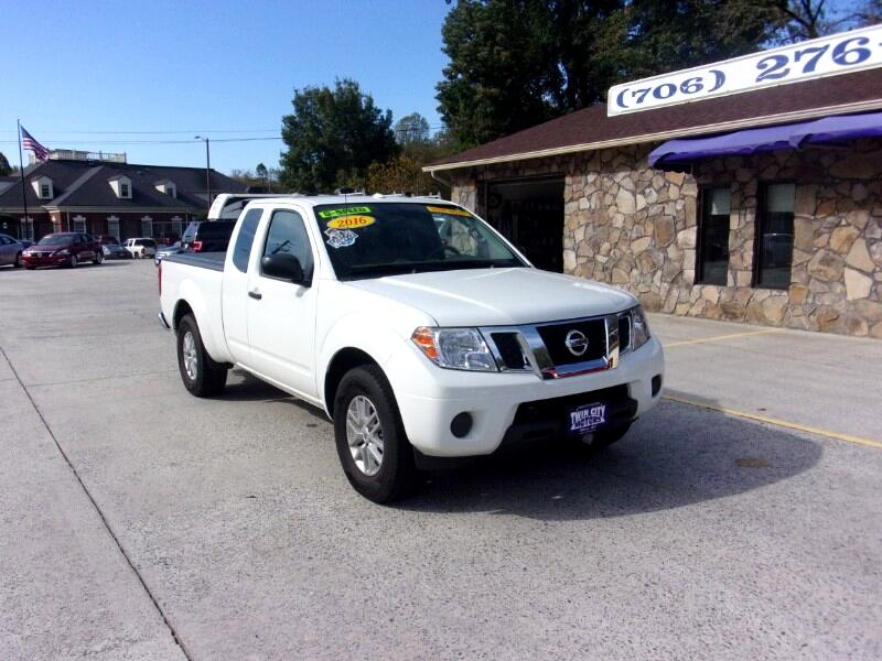 Nissan Frontier SV King Cab I4 5MT 2WD 2016