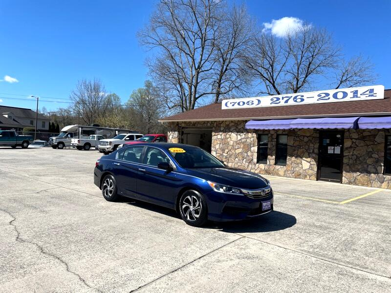 Honda Accord 4dr Sedan Auto LX w/ABS 2017