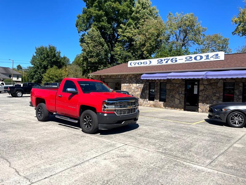 Chevrolet Silverado 1500 Work Truck Short Box 2WD 2017