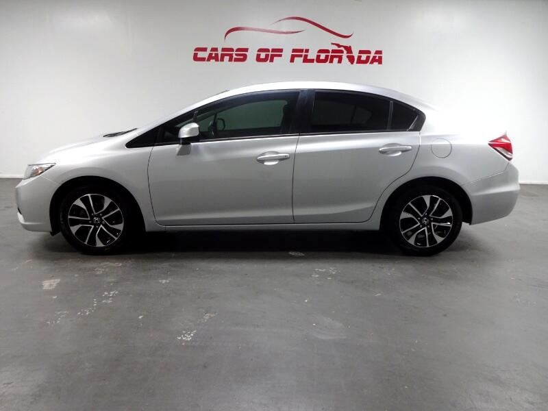 Honda Civic EX-L Sedan 5-Speed AT 2013