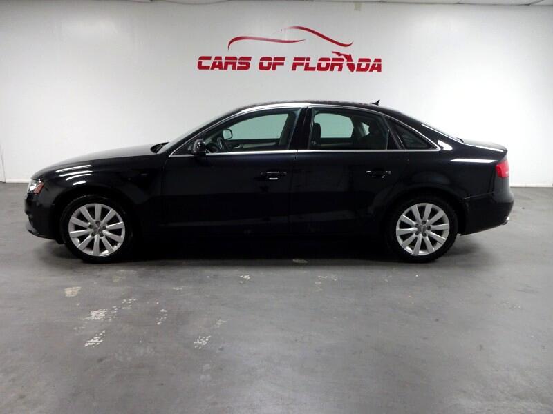 Audi A4 2.0T Sedan quattro Tiptronic 2011