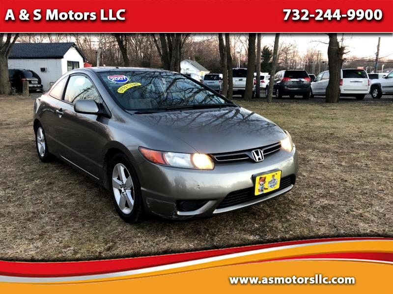 2007 Honda Civic EX Coupe with Navigation