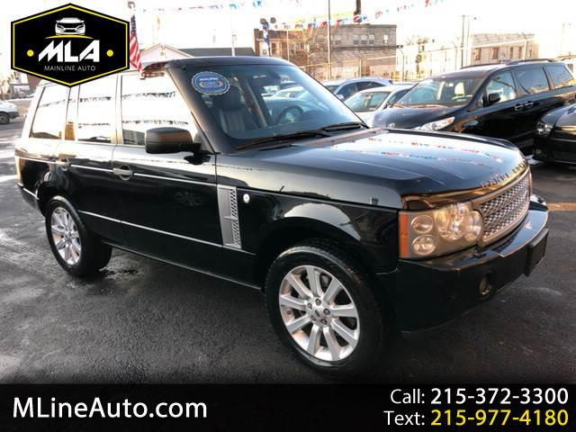 2008 Land Rover Range Rover Supercharged LWB