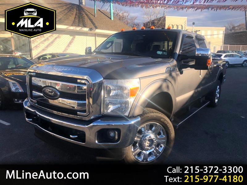 "2013 Ford F-250 Crew Cab 4dr 152.2"" WB 4WD"