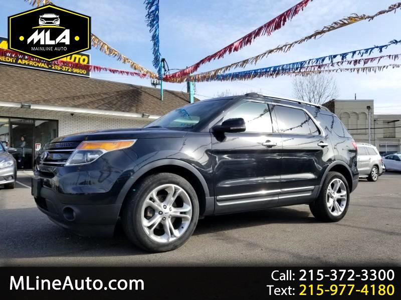 """Ford Explorer 4dr 112"""" WB Limited 4WD 2013"""
