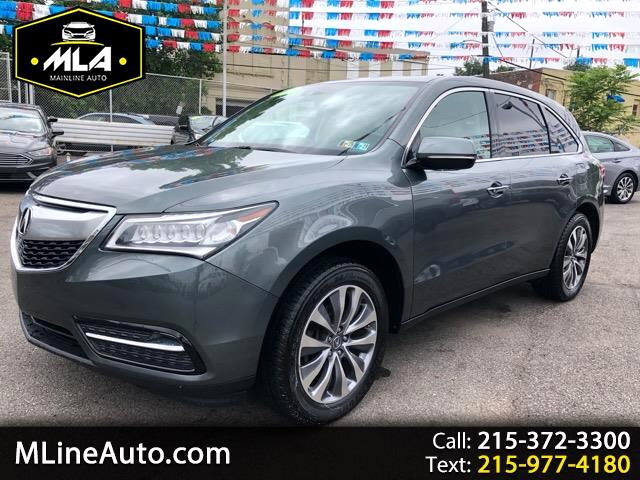 2014 Acura MDX 9-Spd AT SH-AWD w/Advance Package