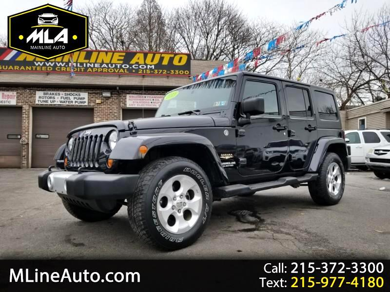 2013 Jeep Wrangler 4WD 4dr Unlimited Sahara