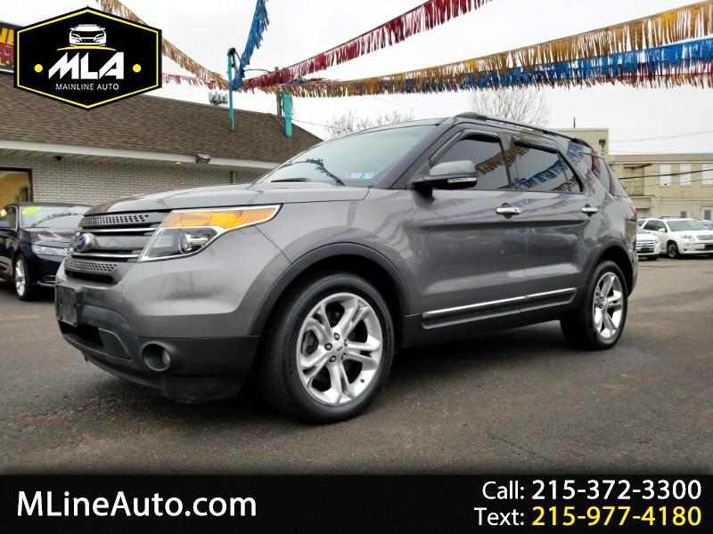 "Ford Explorer 4dr 112"" WB Limited 4WD 2013"