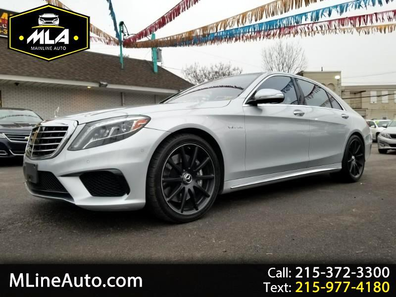 2014 Mercedes-Benz S-Class AMG S 63 4MATIC Sedan