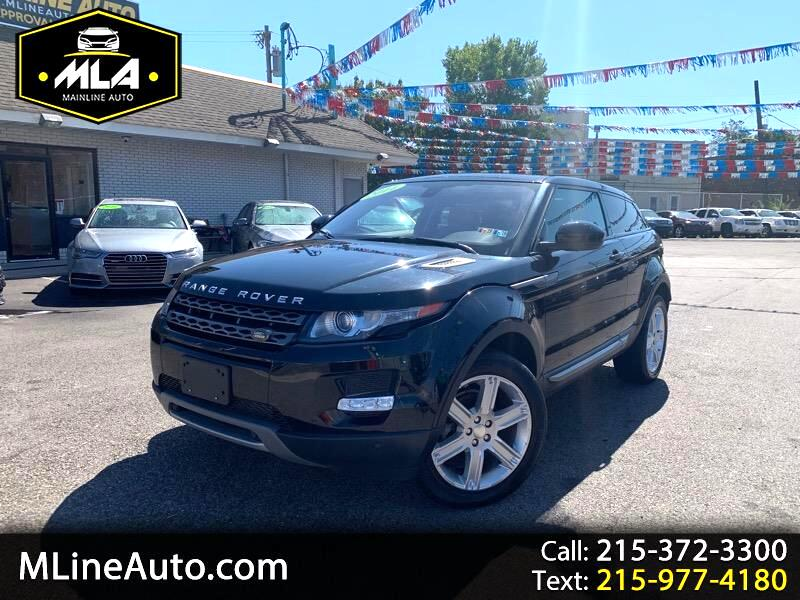 2014 Land Rover Range Rover Evoque Pure Plus 3-Door