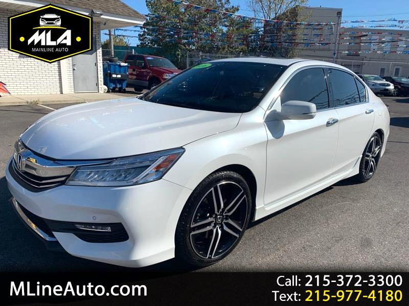 Honda Accord Touring V6 Sedan 6-Spd AT 2016