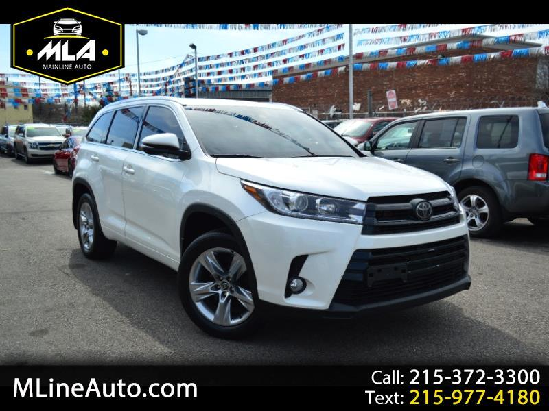 Toyota Highlander Limited AWD V6 2017